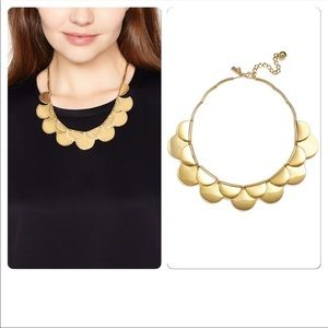 Kate Spade Sweetheart Scallop Statement necklace